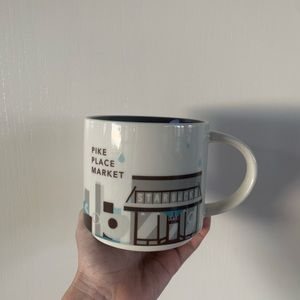 Starbucks pike place market mug